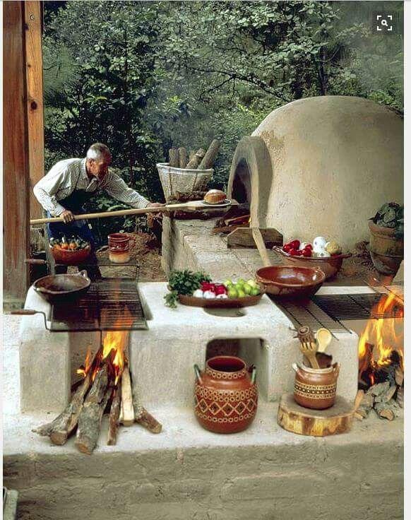 M s de 1000 ideas sobre hornos de ladrillo en pinterest horno al aire libre horno de ladrillo - Hornos para casa ...