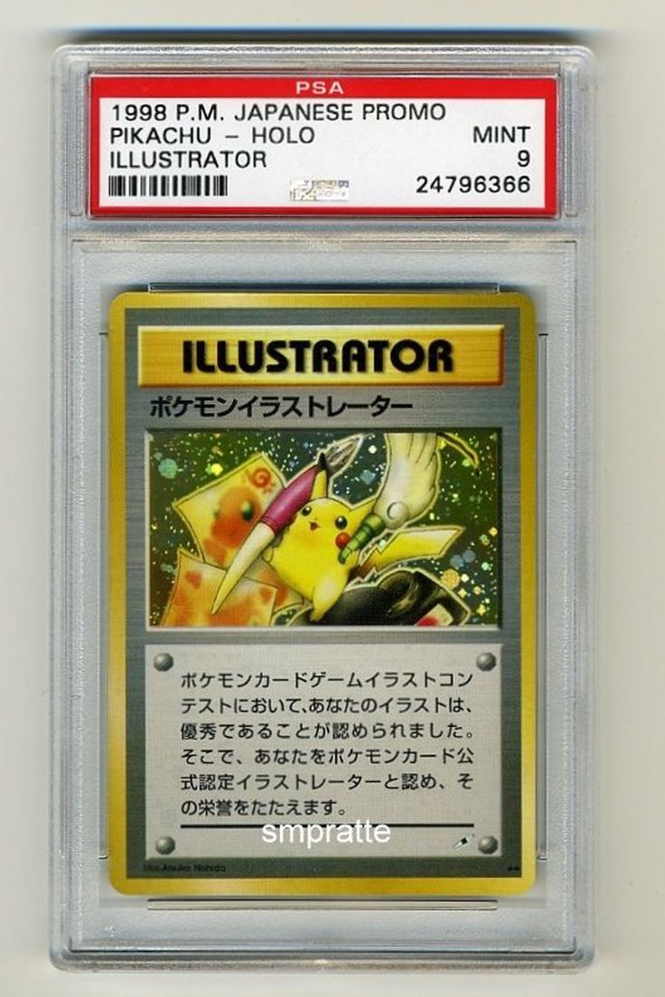 Pokemon Cards: Prices Vary Issued in the '90's original Picacho most valued