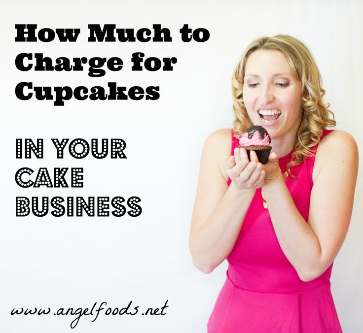 How Much to Charge for Cupcakes {and Cakes} | http://angelfoods.net/how-much-to-charge-for-cupcakes/