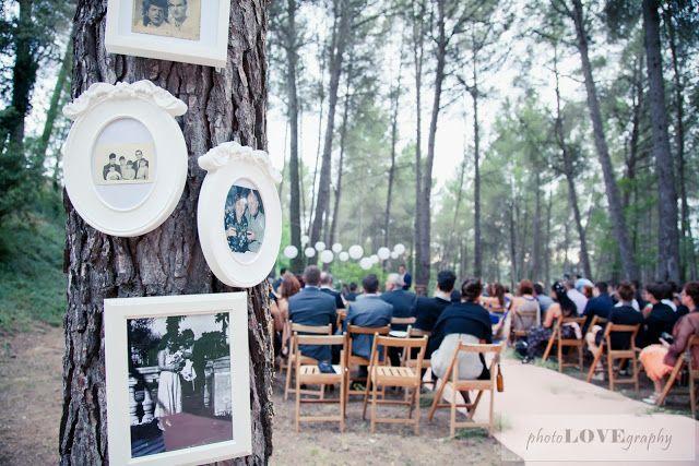 Samara y Miki, preciosa boda en el bosque