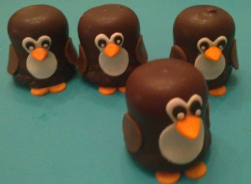 Pinguïns van negerzoenen