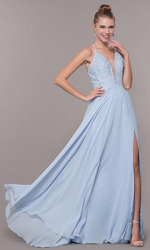 a89b4700e201 P I N T E R E S T: @jacquerosee :)   prooooom in 2019   Prom dresses, V  neck prom dresses, Prom