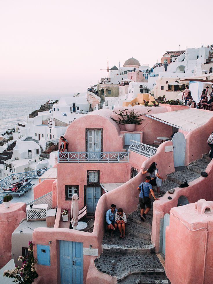 Travel Diary: Summer in Santorini