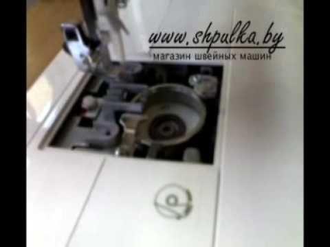 Уход за швейной машиной с горизонтальным челноком - YouTube