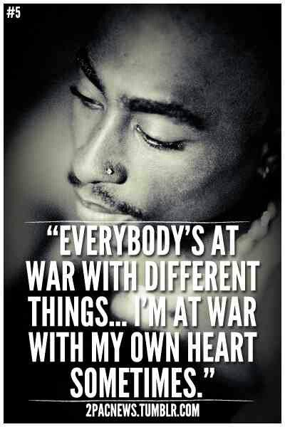 Relatable quote by one of the best rappers of the 90's ♥