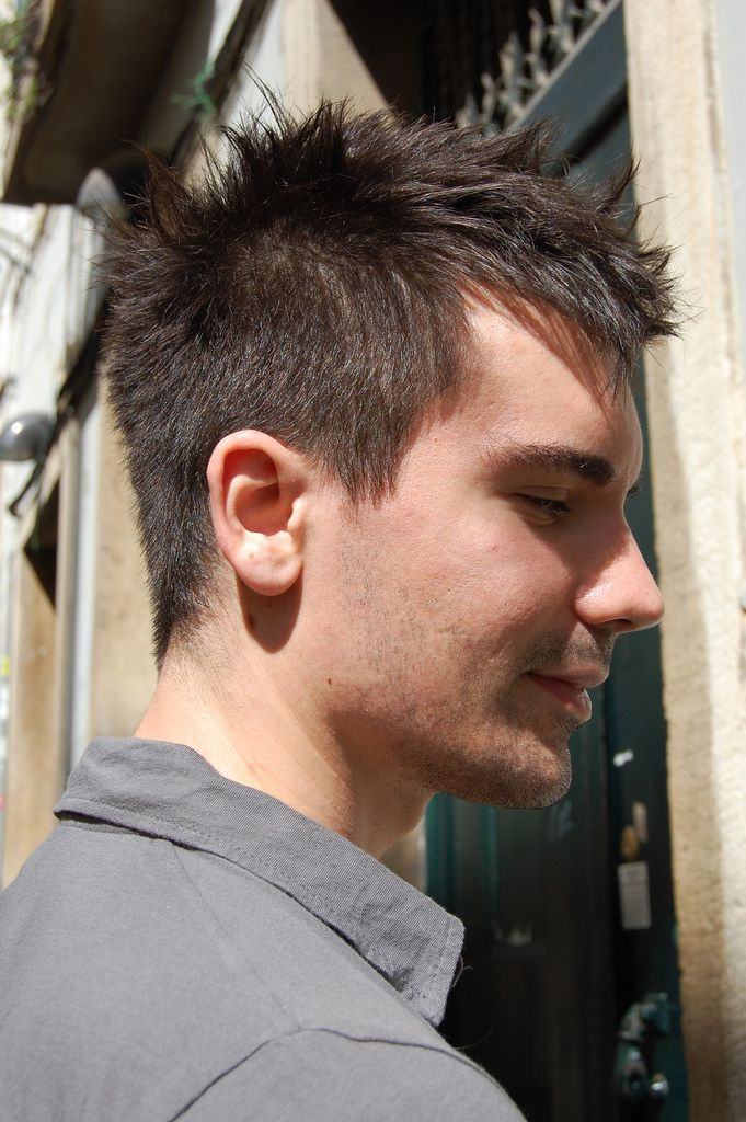 mens new hair styles best 25 spiky hairstyles ideas on spiky 9498