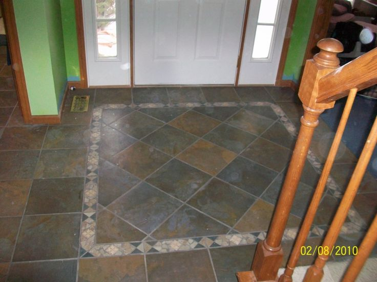 26 best images about entry way on pinterest floor tile for Main floor flooring ideas