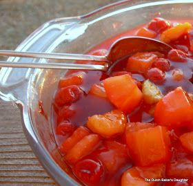 The Dutch Baker's Daughter: Hot Fruit Compote
