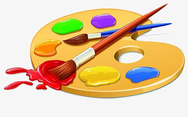 Painter S Sketchpad Png And Clipart Clip Art Cute Drawings Paint Brushes