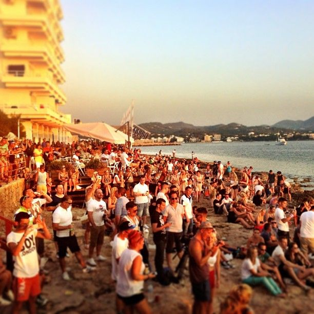 @lost_in_summer | Getting ready for sunset @Cafe Mambo Ibiza #ibiza2013