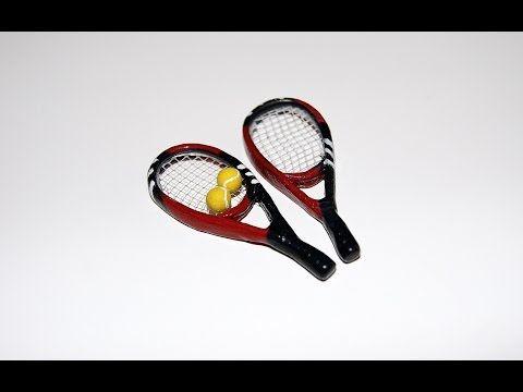 Теннисные ракетки. Миниатюра / Tennis racket miniature - YouTube