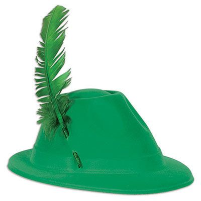 Let's Party With Balloons - Oktoberfest Green Velour Plastic Alpine Hat, $13.00 (http://www.letspartywithballoons.com.au/oktoberfest-green-velour-plastic-alpine-hat/)