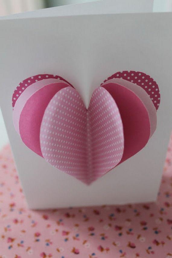 homemade valentine's cards | Unique Homemade Valentine Card Design Ideas | Family Holiday