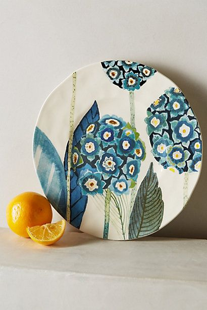 Anthropologie's mix and match plates are the cutest!   They're so summery