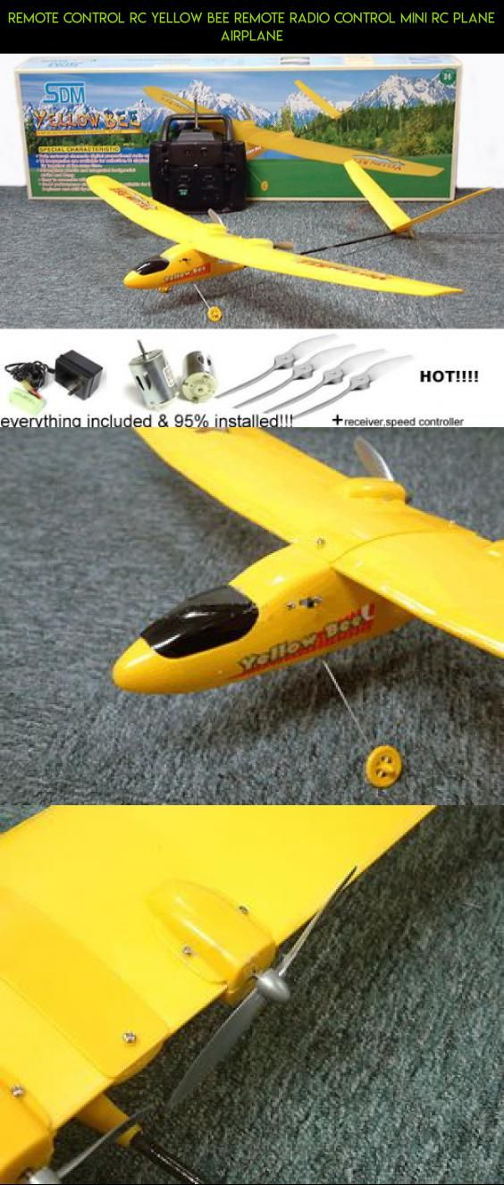REMOTE CONTROL rc Yellow Bee Remote Radio Control Mini RC Plane Airplane #shopping #technology #rc #camera #tech #fpv #drone #products #parkflyers #planes #gadgets #plans #parts #kit #racing