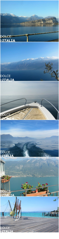 Beauty of Lago di Garda, Italy