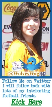 Wolverhampton Wanderers FC News and Spotlight on the TOP Wolves Blogs all on a fast loading webpage You must click see The Wolves Wag She is Absolutely Gorgeous talk to her on twitter and facebook or doing promotions at most home games.