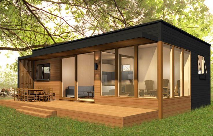 Prefab Home Model: MiniHome Duo 36 + 24. Size: 726 Sq Ft
