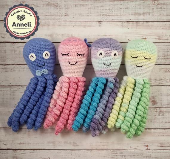 Octopus For Preemies Free Crochet Pattern   Crochet baby mobiles ...   532x570