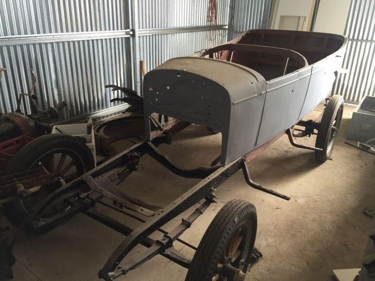 Selling is my 1927 unrestored chev Body and chassis restored and in primer Have a variety of parts including full motor Would be great to restore back to ..., 1111304449