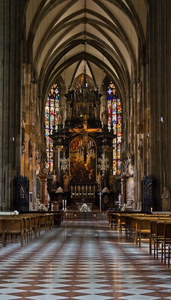 St. Stephens, Vienna. I LOVED this one. Vienna mig…