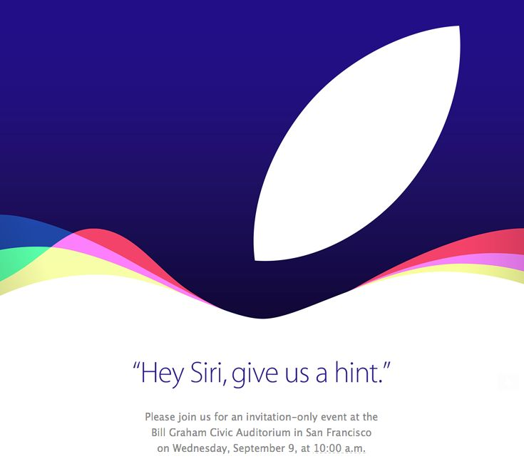 Apple iPhone event announced for Wednesday, September 9 ....Apple has just announced its traditional fall iPhone launch, sending out invitations to the press for an event on September 9th at 10AM PST, as expected. Less expected? The venue, San Francisco's Bill Graham Civic Auditorium. That's a new one for Apple — and it's a massive venue with a 7,000-person seating capacity, so expect a lot of news...#apple #iphone