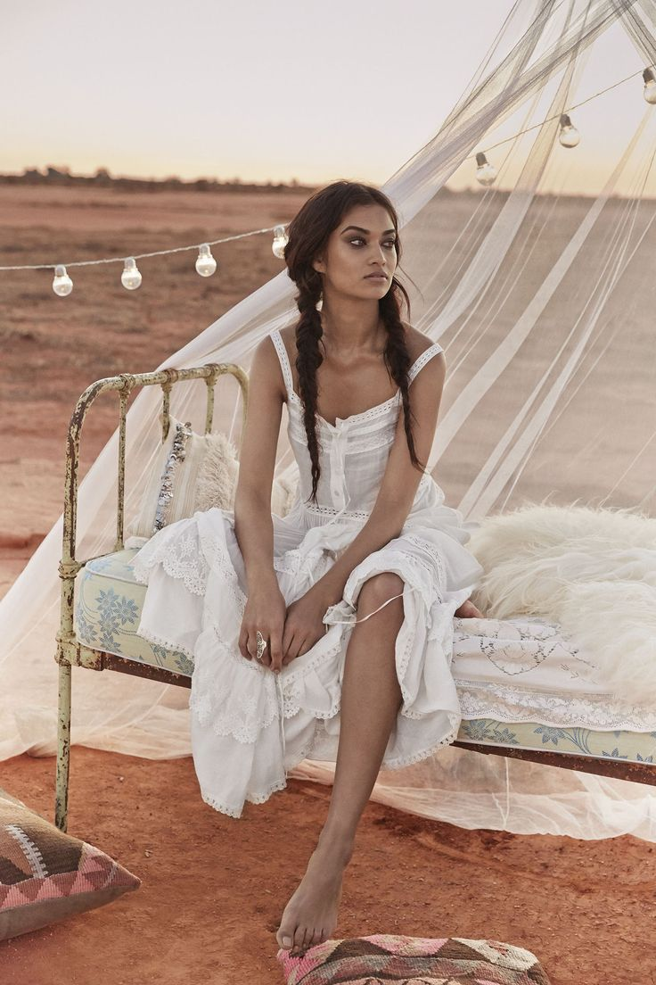 Spell & The Gypsy Collective Revolver featuring Shanina Shaik @spelldesigns bohemian chic