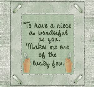 To my beautiful nieces, you are special to me:)