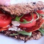 Blomkålswrap - Gymfoodie   Sunde mad og fitness opskrifter   Perfekte til diæt og vægttab