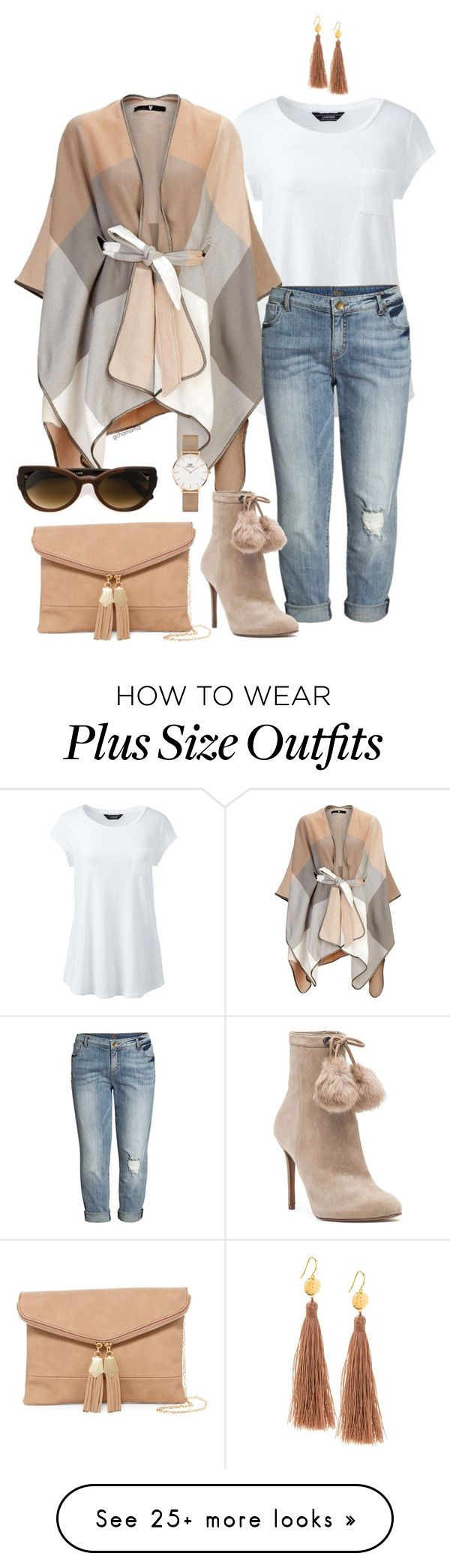 """Give it time- plus size"" by gchamama on Polyvore featuring Lands' End, KUT from the Kloth, MICHAEL Michael Kors, Gorjana, Urban Expressions, Martha Medeiros, Daniel Wellington and plus size clothing"