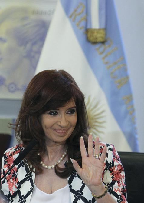 Cristina Kirchner quebra silêncio sobre eleições (foto: EPA)
