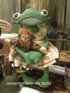 Примитивные куклы народного искусства Яна Куклы Мари и примы, примитивные шаблоны народного искусства, мягкие куклы Скульптура