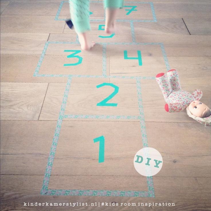 #DIY #decotape | NEW BLOG http://www.kinderkamerstylist.nl/blog/speelzolder