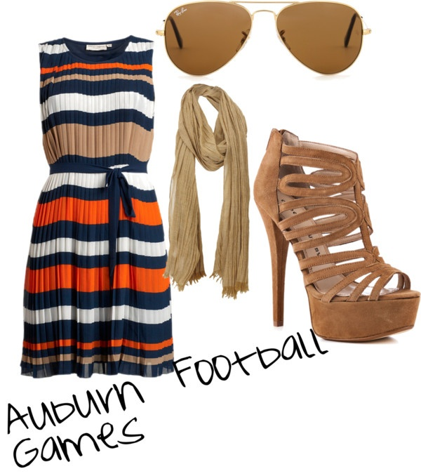 """Auburn Football Games"" by lizz9909 on Polyvore"