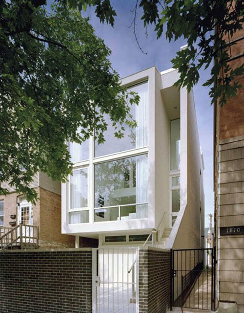 Chicago Town House - Alexander Gorlin Architects