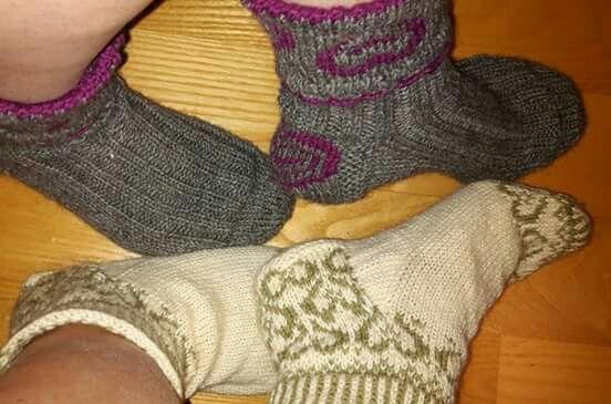 Sydämelliset sukat jaloissa ♡
