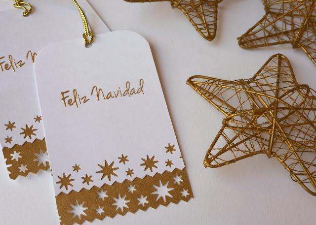 papeles pequeos tarjetas de navidad ii