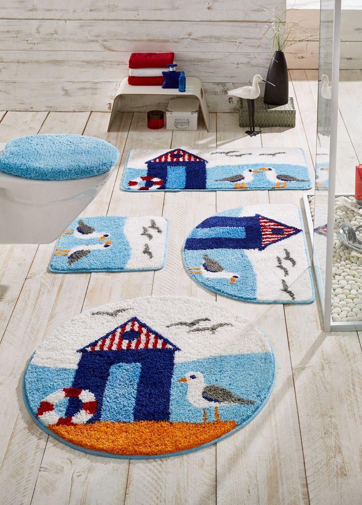 Commandez maintenant Tapis de bain Coast bleu clair - bpc living à partir de 7,99 ? sur bonprix.fr. Parure de salle de bain tuftée à motif marin, mèches en. ...