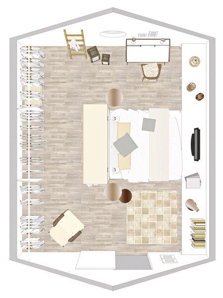 Unterm Dach: Schlafzimmer mit Schrägen einrichten in 2020 ...