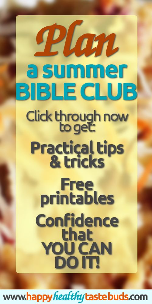 If you want to share the Gospel but you don't know how to get started, or if you're already planning a summer Bible club for kids, then you HAVE to read this comprehensive resource! It's written out of a passion for teaching the Bible to kids & 15+ years experience in children's ministry. And it's packed full of practical, useful tips & tricks—plus ideas & inspiration for games, crafts, activities, songs, Bible lessons, & more. Click through for details!