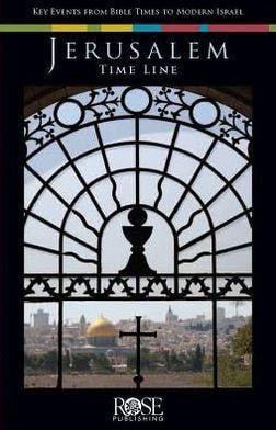 Jerusalem Time Line Pamphlet (Pack of 5)