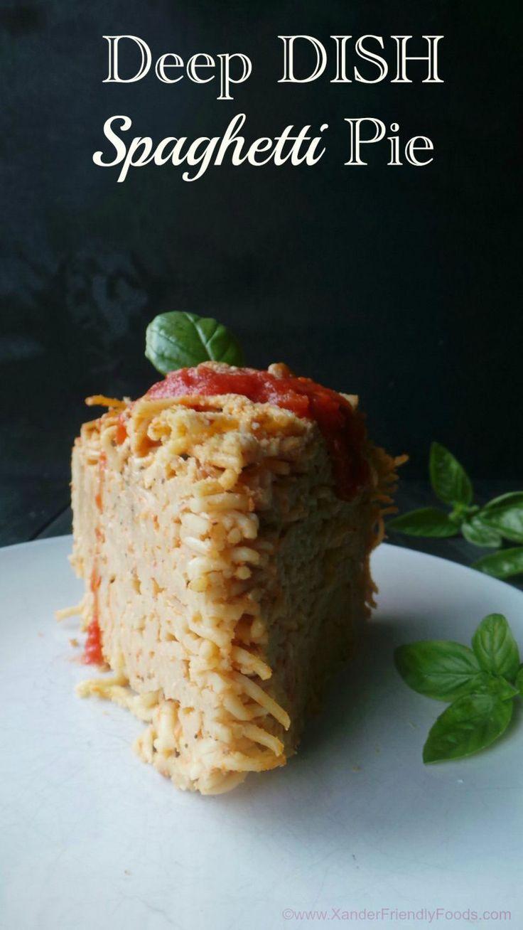 ... Dish Spaghetti Pie   Recipe   Deep Dish, Spaghetti Pie and Spaghetti