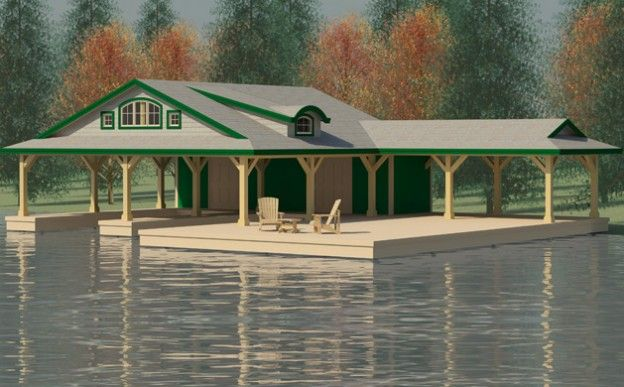 Boathouse design ideas boathouse design dan christian for Boat house plans pictures