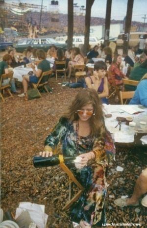 Janis Joplin at Woodstock, 1969. Photoby Elliott Landy. by Eva