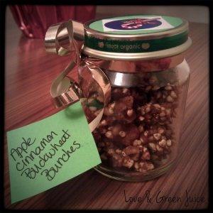 DIY Christmas Gift: Apple Cinnamon Buckwheat Bunches