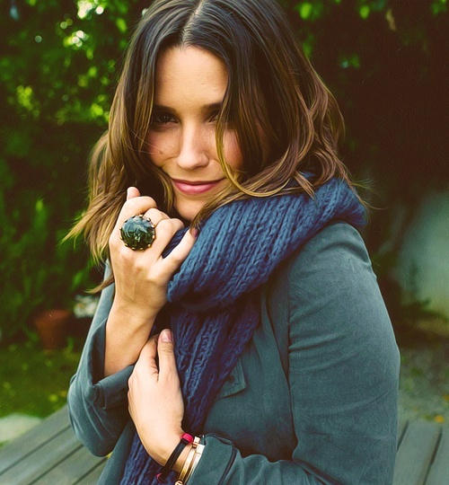 Sophia Bush, forever my ultimate celebrity crush and a passionate, beautiful inspiration