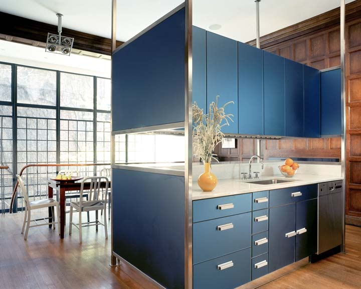 East Side Townhouse 1, Kitchen, New York, 2005, BWArchitects