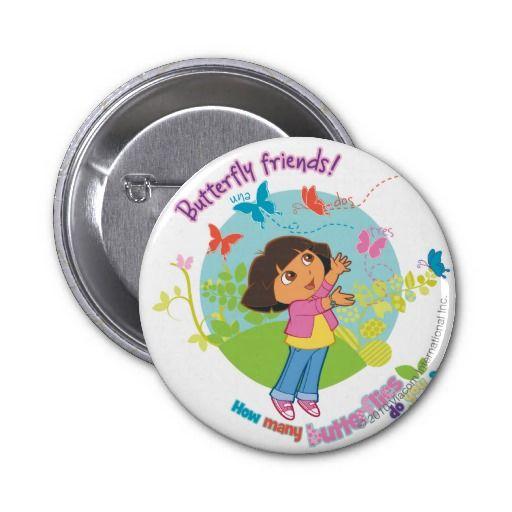 Dora The Explorer - Butterfly Friends Buttons