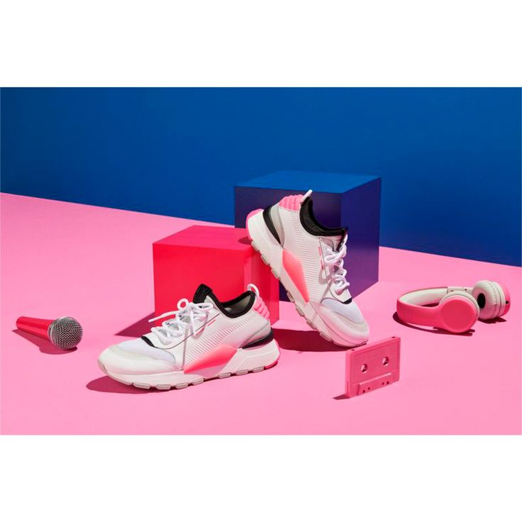 PUMA Evolution RS-0 Sound Trainers in Pink size 10.5