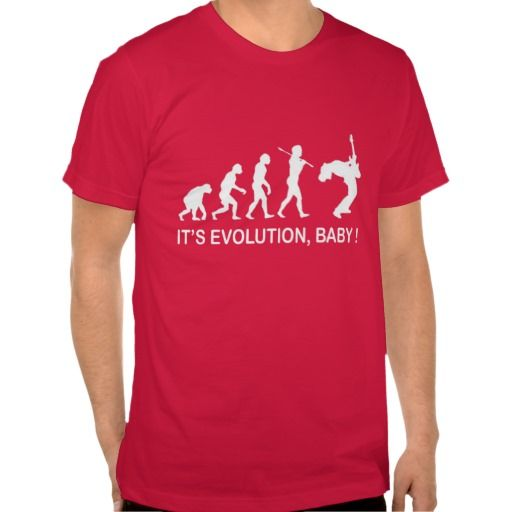 ITS EVOLUTION MUSIC BABY ! T-SHIRT